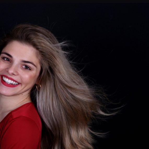 O sorriso transformado da Adriana